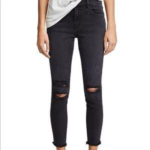 J brand Croppd Skinny Mercy Jeans